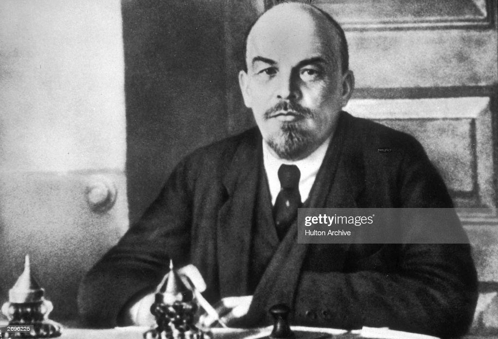 Leader Lenin : News Photo