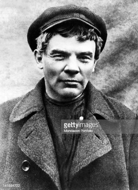 Portrait of Russian revolutionary Lenin during his exile in Finland Finland 1917
