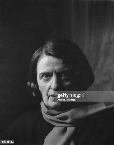 Portrait of Russianborn American author Ayn Rand New York New York September 15 1964 She wears a scarf around her neck