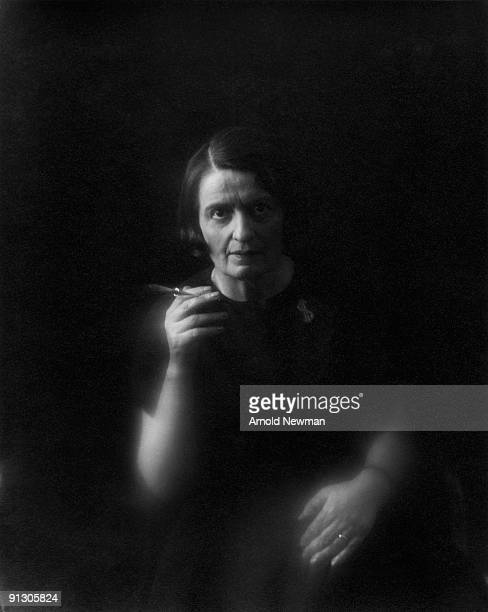 Portrait of Russianborn American author Ayn Rand New York New York September 15 1964