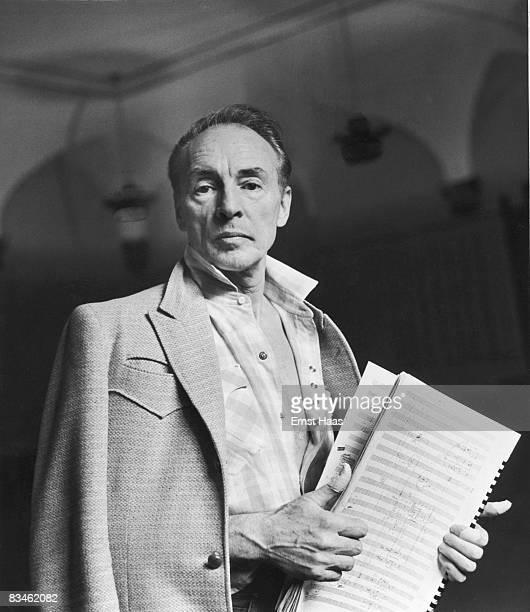 Portrait of Russianborn American choreographer and dancer George Balanchine New York New York 1962
