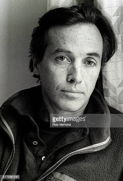Portrait of Ry Cooder during an interview in Amsterdam Netherlands 8th April 1988