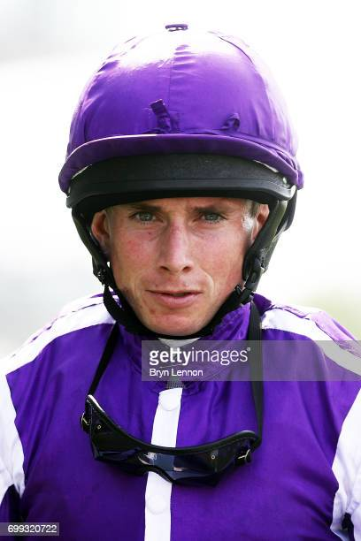 A portrait of Ryan Moore on day two of Royal Ascot 2017 at Ascot Racecourse on June 21 2017 in Ascot England