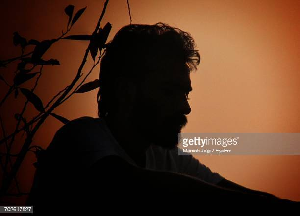 portrait of sad man - one man only stock pictures, royalty-free photos & images