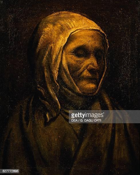 Portrait of Saint Angela Merici by Moretto da Brescia Italy 16th century