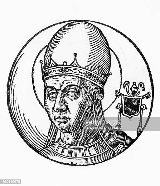 Portrait of Saint Zosimus , 41st Pope of the Catholic