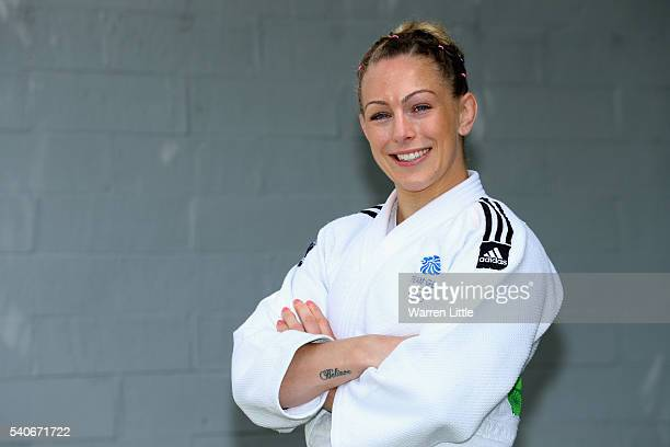 A portrait of Sally Conway of Great Britain during an announcement of judo athletes named in Team GB for the Rio 2016 Olympic Games at British Judo...