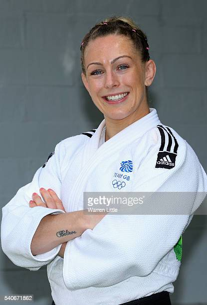 Portrait of Sally Conway of Great Britain during an announcement of judo athletes named in Team GB for the Rio 2016 Olympic Games at British Judo...