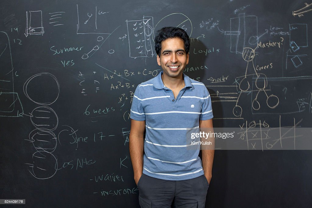 USA - Scenes of Khan Academy in Silicon Valley : News Photo