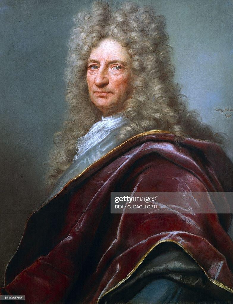Portrait of Samuel Bernard... : Photo d'actualité