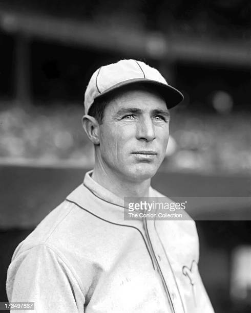 A portrait of Samuel D Gray of the Philadelphia Athletics in 1927