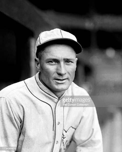 A portrait of Samuel D Hale of the Philadelphia Athletics in 1927