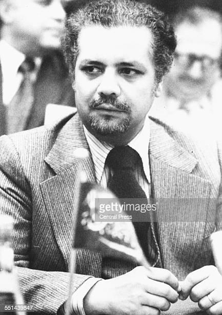 Portrait of Saudi Arabian Oil Minister Sheikh Ahmed Zaki Yamani April 4th 1979