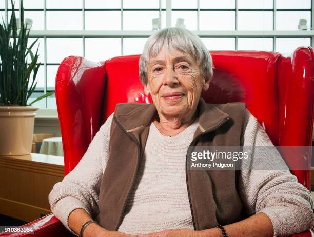 Portrait of science fiction author Ursula K Le Guin at Wordstock Literary Festival in Portland Oregon United States on 9th October 2011