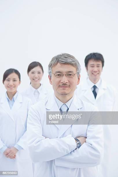 Portrait of scientists