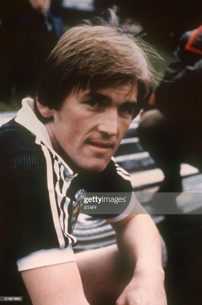 Portrait of Scottish forward Kenny Dalglish taken : News Photo