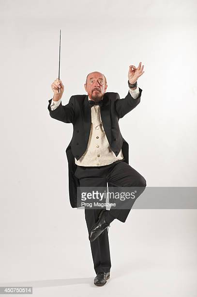 Portrait of Scottish musician and composer Ian Anderson photographed in London on July 1 2013 Anderson is best known for his work with British...