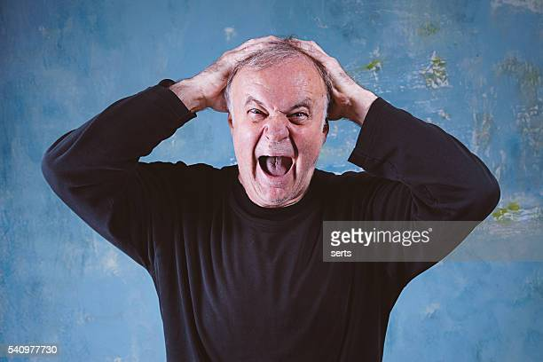1 577 Old Man Yelling Photos And Premium High Res Pictures