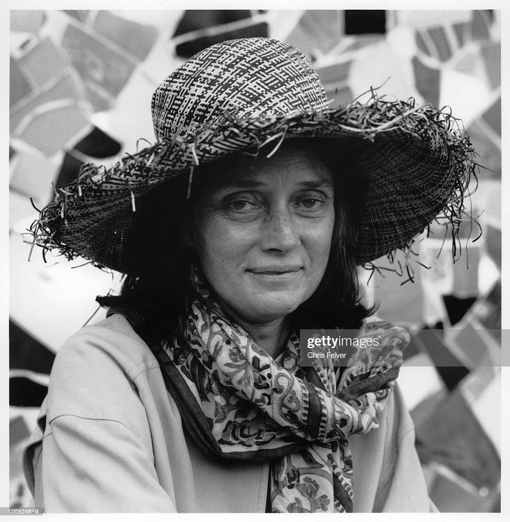 Portrait of sculptor and assemblagist Niki De Saint Phalle, Grosetto,... News Photo - Getty Images