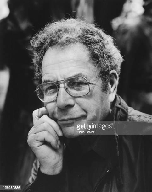 Portrait of sculptor George Segal Venice Italy 1988
