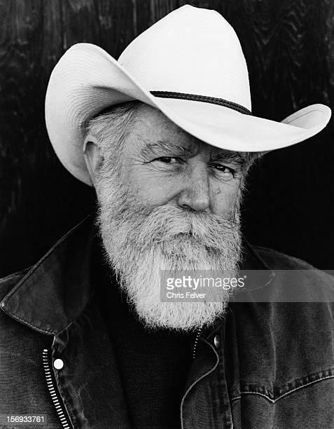 Portrait of sculptor James Turrell Flagstaff Arizona 1999