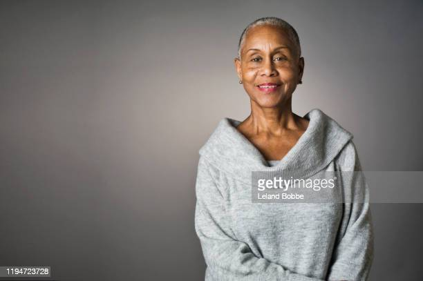 portrait of senior african american woman - disruptaging stock pictures, royalty-free photos & images
