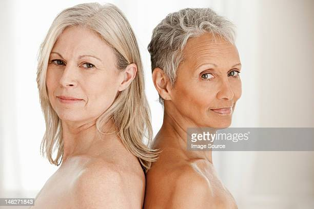portrait of senior and mature women - female friendship stock pictures, royalty-free photos & images
