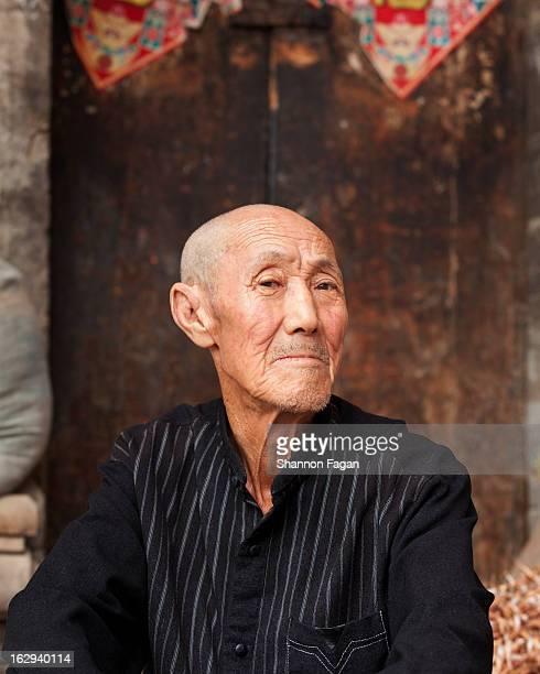 Portrait of senior Chinese man
