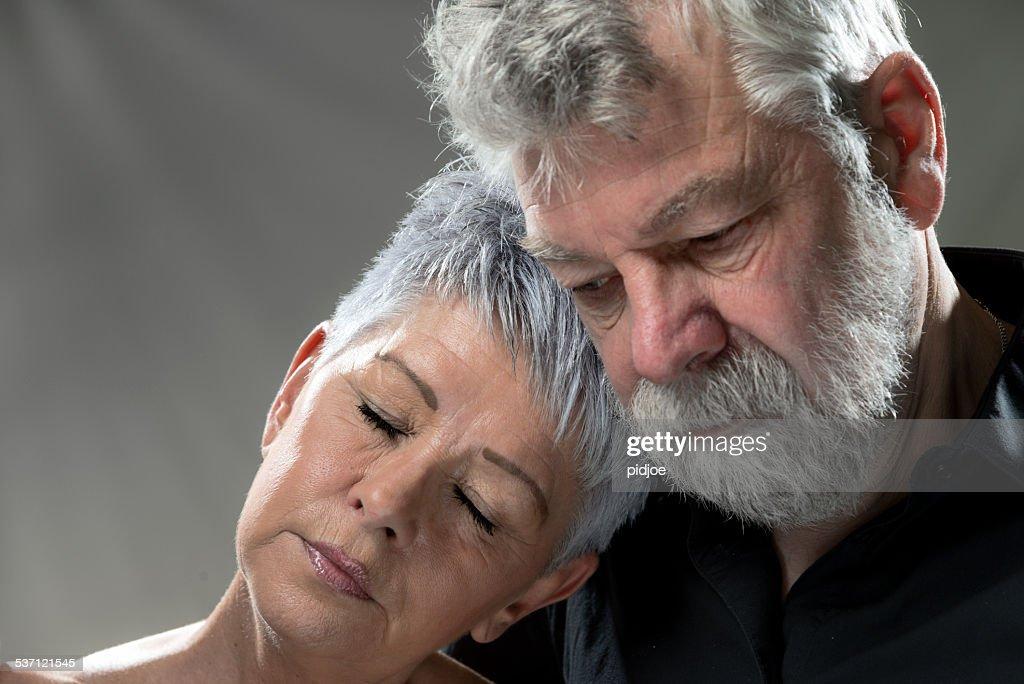 portrait of Senior couple : Stock Photo