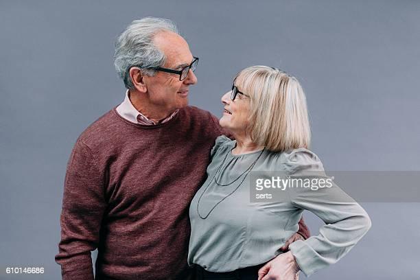 Porträt von Senior-Paar