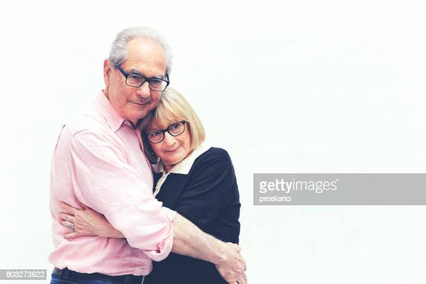 Portrait of Senior French Couple