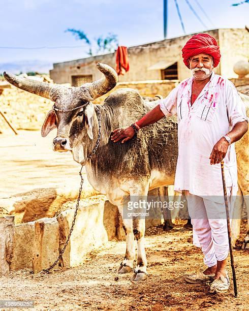Portrait of Senior Indian Man
