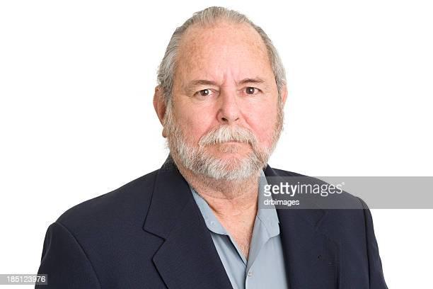 Portrait Of Senior Man In Blazer