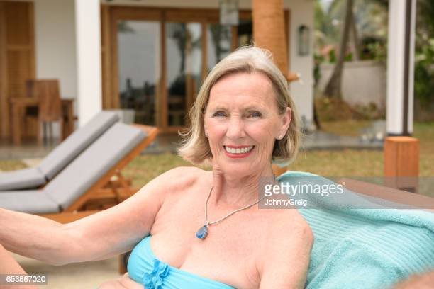 Old Women In Bikini Stock Photos And Pictures Getty Images