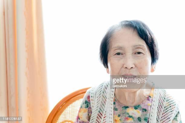 先輩女性の肖像 - 80代 ストックフォトと画像