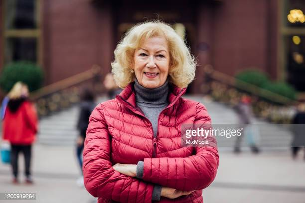 portrait of senior woman - international womens day stock pictures, royalty-free photos & images