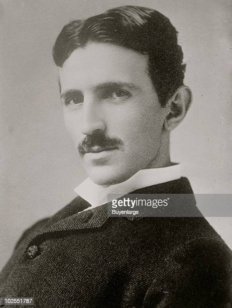 Portrait of SerbianAmerican inventor and engineer Nikola Tesla aged 34 circa 1890