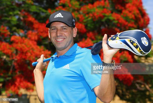 Portrait of Sergio Garcia of Spain ahead of the Nedbank Golf Challenge at Gary Player CC on November 6, 2018 in Sun City, South Africa.
