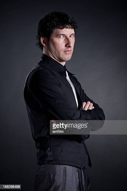 Portrait of serious business man.
