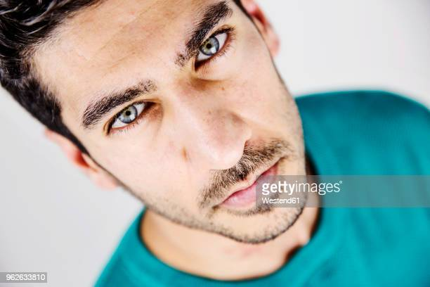 Black Hair Blue Eyes Men Stock Photos And Pictures Getty Images