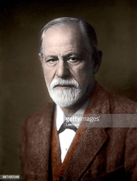 portrait of Sigmund Freud Austrian neurologist and the founder of psychoanalysis