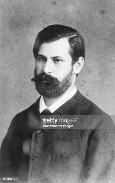 Portrait of Sigmund Freud Photography 1886 [Portrait von Sigmund Freud Photographie 1886]