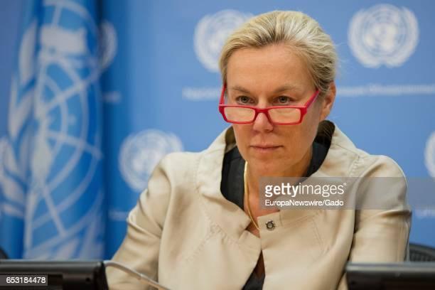 Portrait of Sigrid Kaag UN Special Coordinator for Lebanon July 8 2016