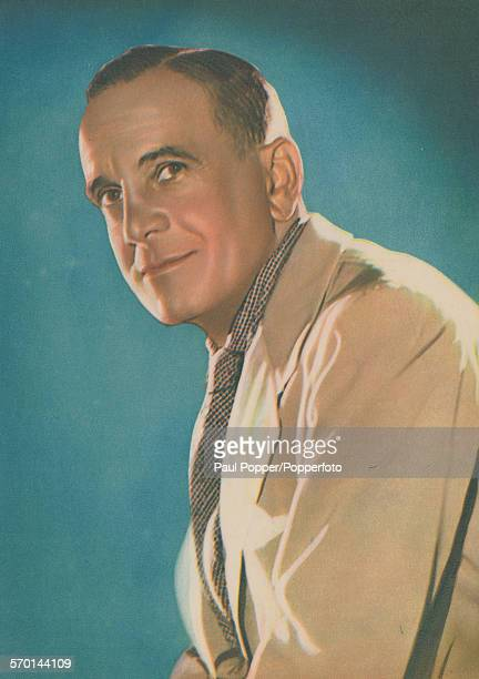 Portrait of singer and actor Al Jolson posed circa 1930