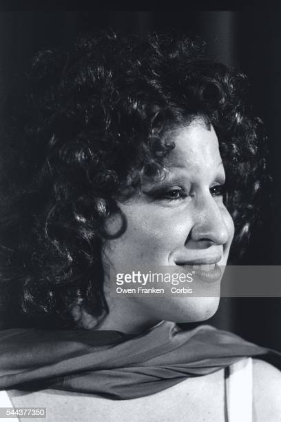 Portrait of singer and actress Bette Midler winner of the Hasty Pudding Woman of the Year Award The annual award was presented to her by the Hasty...