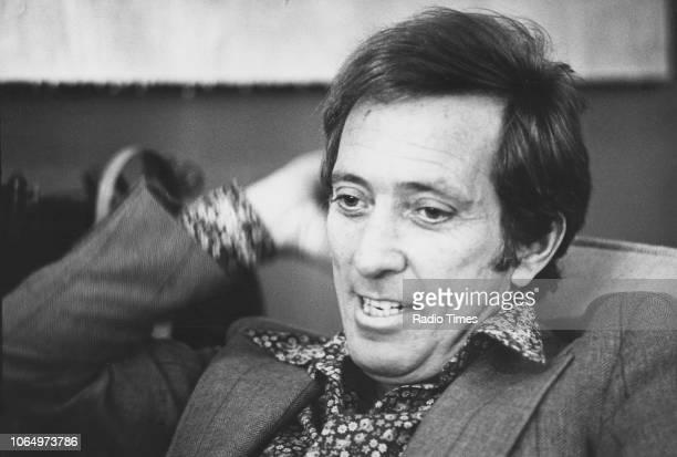 Portrait of singer Andy Williams November 1973
