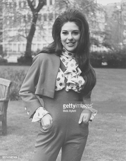 Portrait of singer Bobbie Gentry in Manchester Square London May 21st 1968