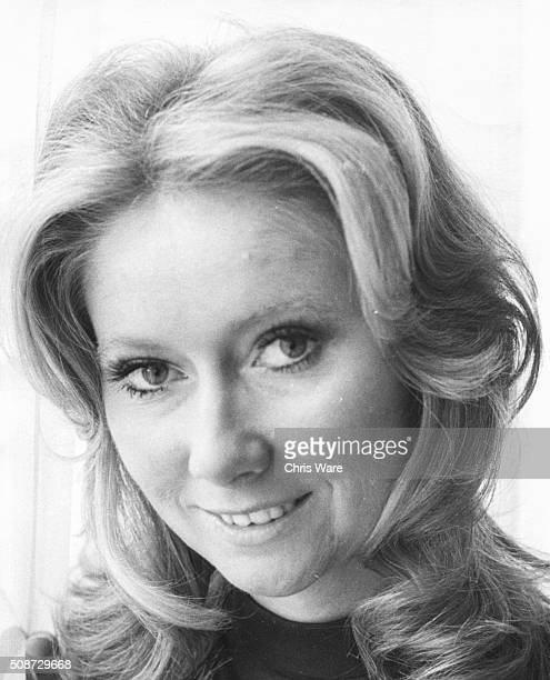 Portrait of singer Clodagh Rodgers who will soon be representing Great Britain in the Eurovision Song Contest circa 1971