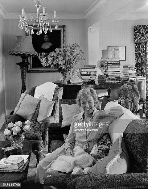 Portrait of singer Dame Vera Lynn at Ditchling Sussex England November 3 1978