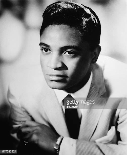 Portrait of singer Jackie Wilson 1961 photograph